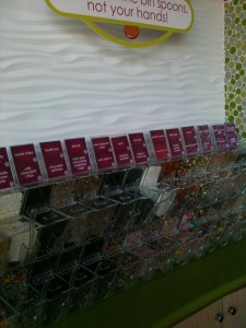 Menchie's Dry-Toppings Bar
