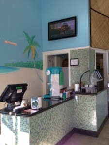 FroYo Shop, Front of Store