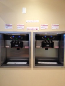 Taylor Self-Serve Frozen Yogurt Machines