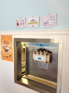 Were all the magic happens, meet the Frozen Yogurt Machine.