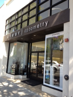 Front view of Optometry Frozen Yogurt