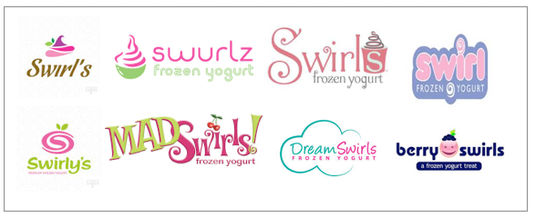 Frozen Yogurt Store Names