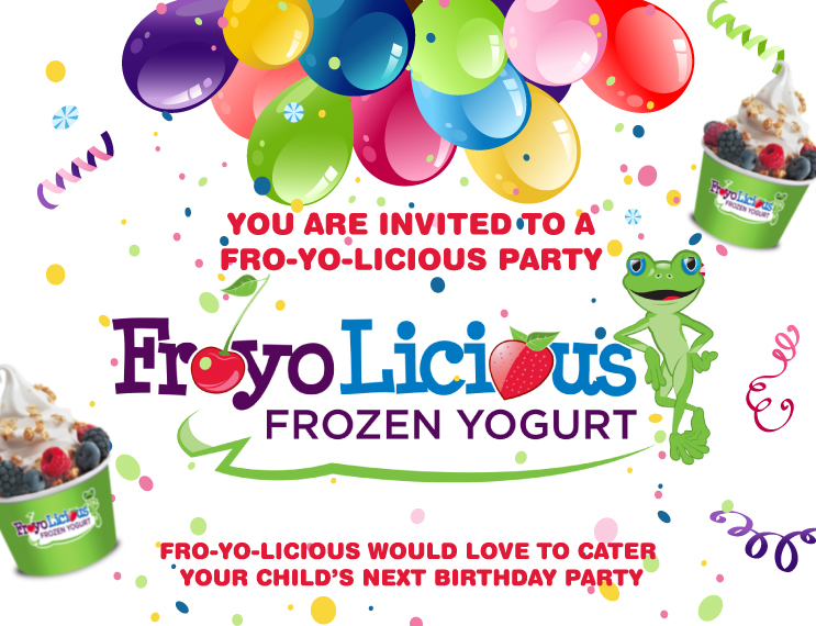 froyo_party_flyer